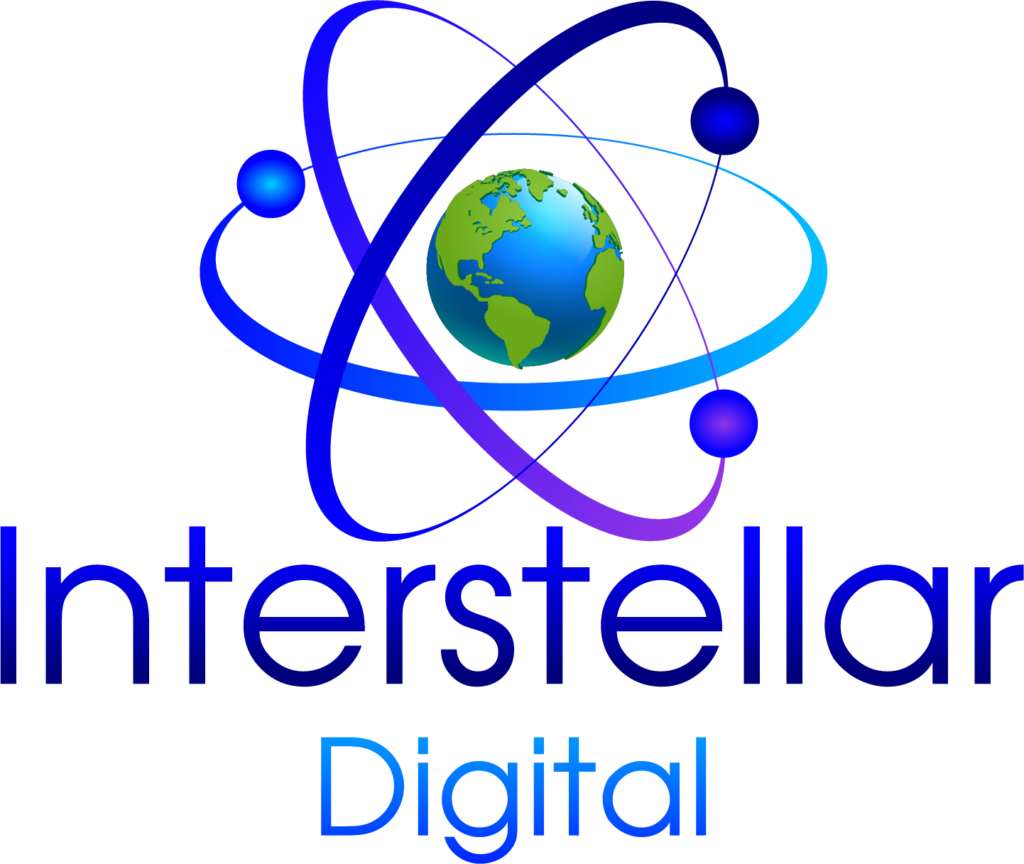logo công ty Interstellar Digital được FADI thiết kế