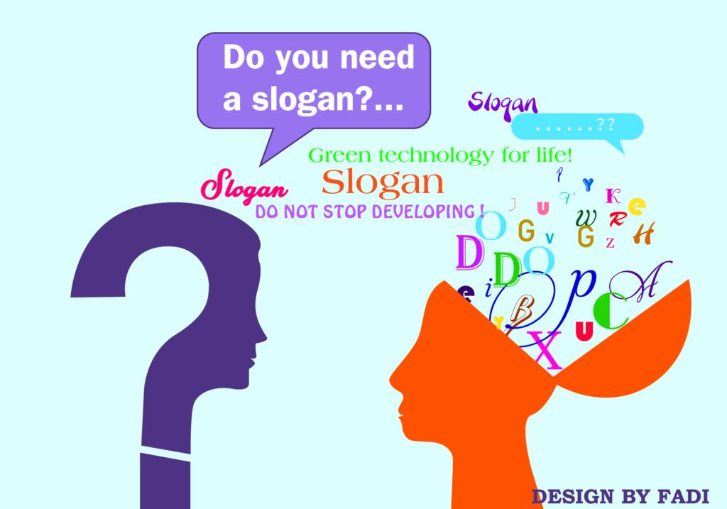 Sử dụng slogan cho thiết kế logo
