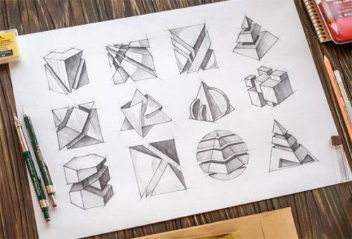 Phác thảo ý tưởng thiết kế logo